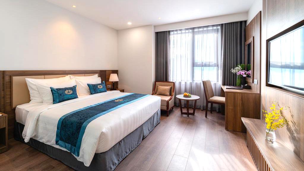 Combo 3N2Đ Gonsala Nha Trang Hotel 4* + Vé máy bay khứ hồi