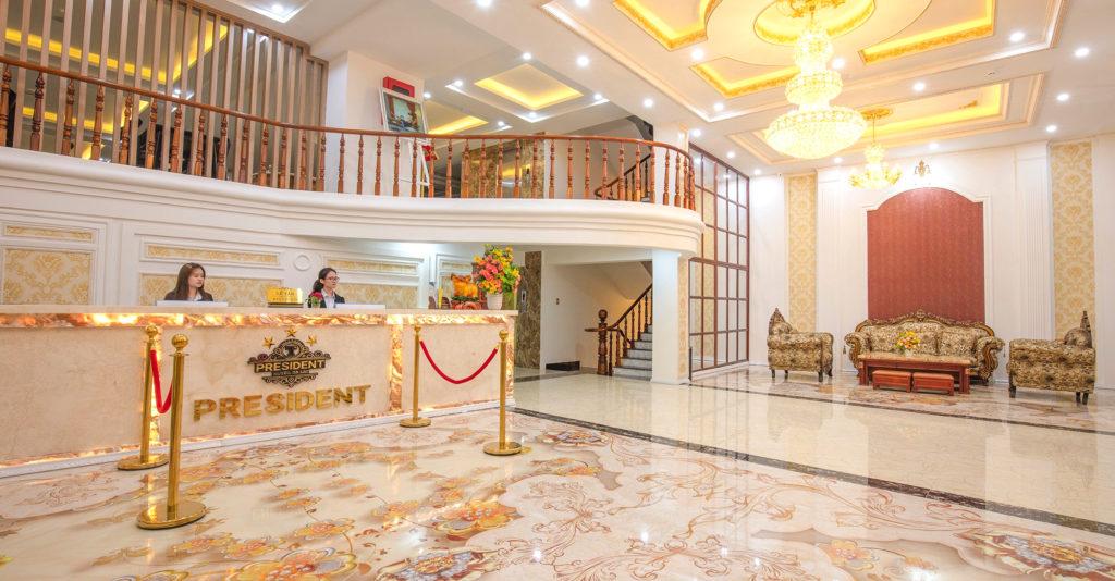 Combo President Hotel 3 Sao ngay trung tâm chợ Đà Lạt