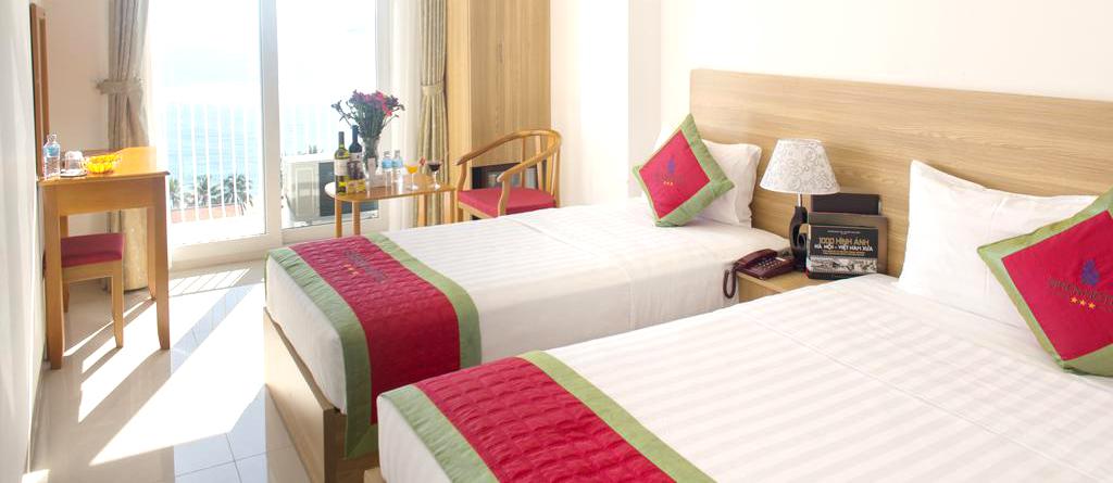 Combo 3N2Đ Siren Flower Nha Trang Hotel 3* + Vé máy bay khứ hồi