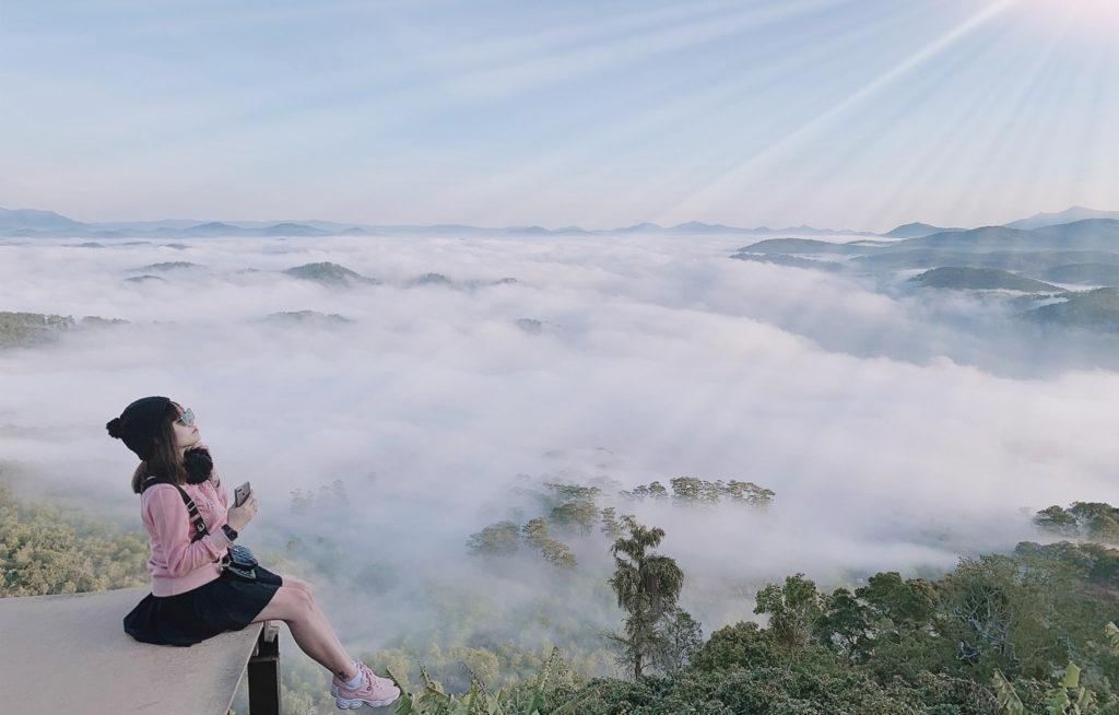 Bộ ảnh Đà Lạt săn mây Đại Ngàn, đã yêu lại càng yêu